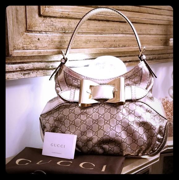 917295c7f2e Gucci Handbags - Part 1 Authentic Gucci Guccissima Queen Hobo
